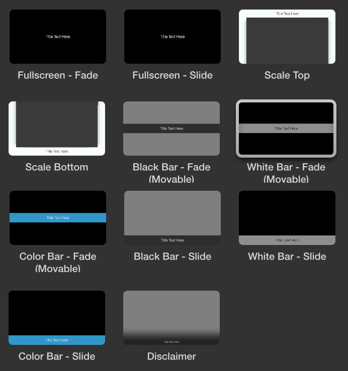 APreview-Titles