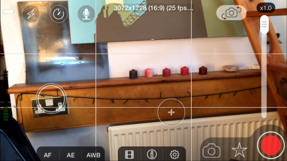 mp3.5 focus-exposure-point