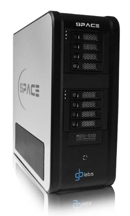 GB Labs Midi Space SSD NAS device