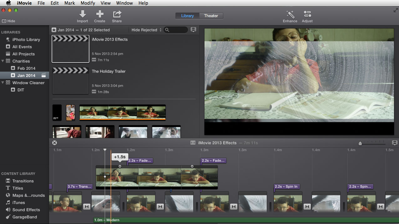 imovie projects Join ashley kennedy for an in-depth discussion in this video importing imovie projects and events, part of final cut pro x 102 essential training.
