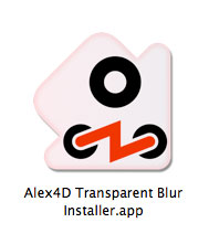 transparent blur installer-icon