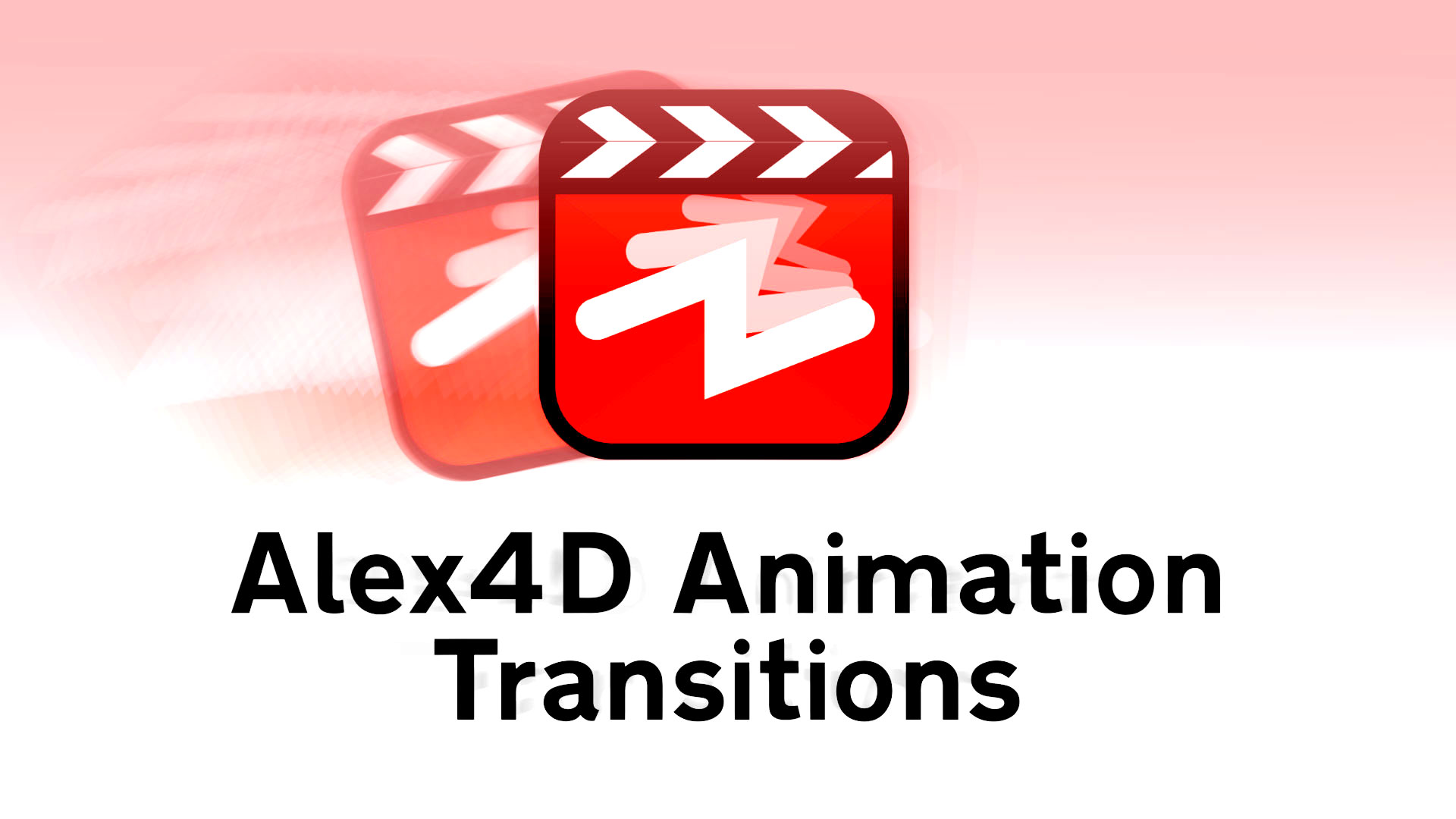 Alex4D Animation Transitions - 120 Final Cut Pro X plugins